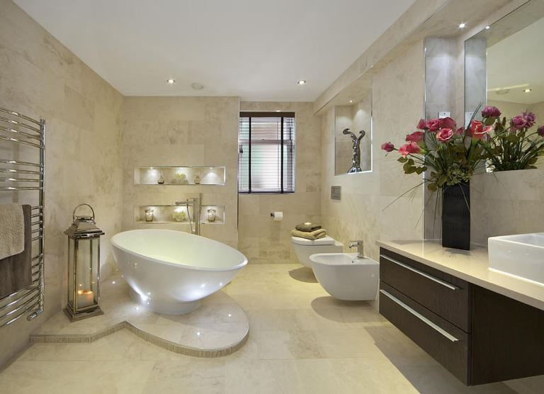 design a master bathroom with remodeling design tips