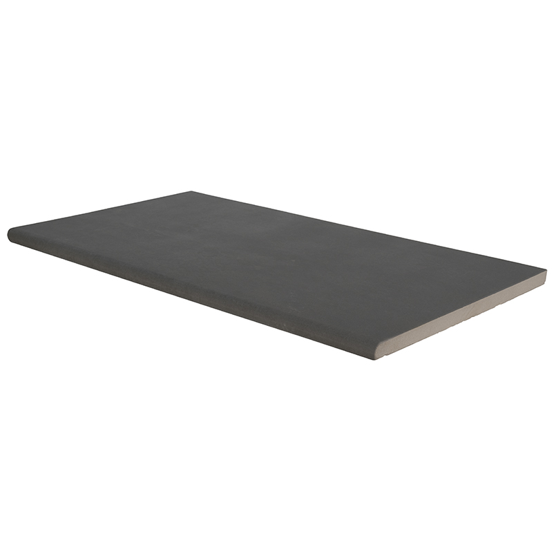 Arterra Beton Antracite 13X24 One Long Side Bullnose Pool Coping