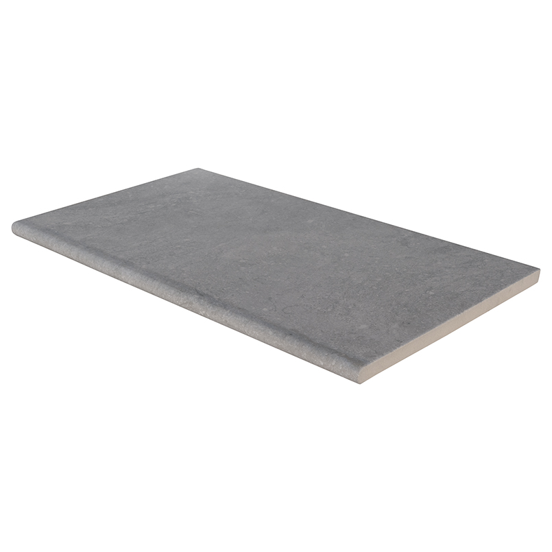 Arterra Vulkon Grey 13X24 One Long Side Bullnose Pool Coping