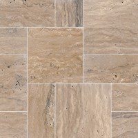 Classico Brown 160 Sft Tumbled French Pattern Pavers