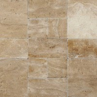 Palermo 12X24 Tumbled Travertine Paver