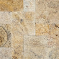 Tuscany Scabas 6x12 Tumbled Travertine Paver