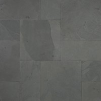 Montauk Black 16 Sqft x 10 Kits 1 Inch Natural Paver