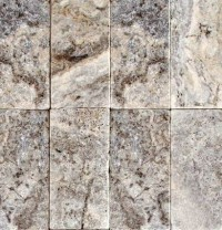 Silver Travertine Paver 6X12 Tumbled Travertine Paver