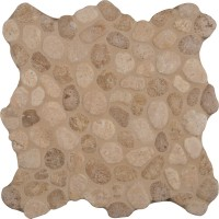 Travertine Blend Pebbles 10mm