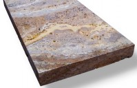 Tuscany Scabas 8X8 Honed Unfilled Tumbled Paver