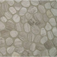 White Oak Pebbles 12X12 Tumbled
