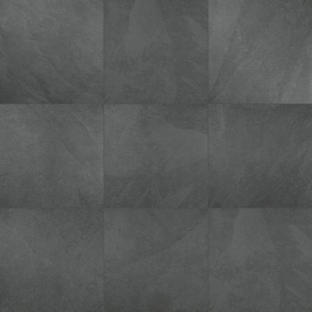 Arterra Legions Montauk Black 24X24 Matte Porcelain Paver