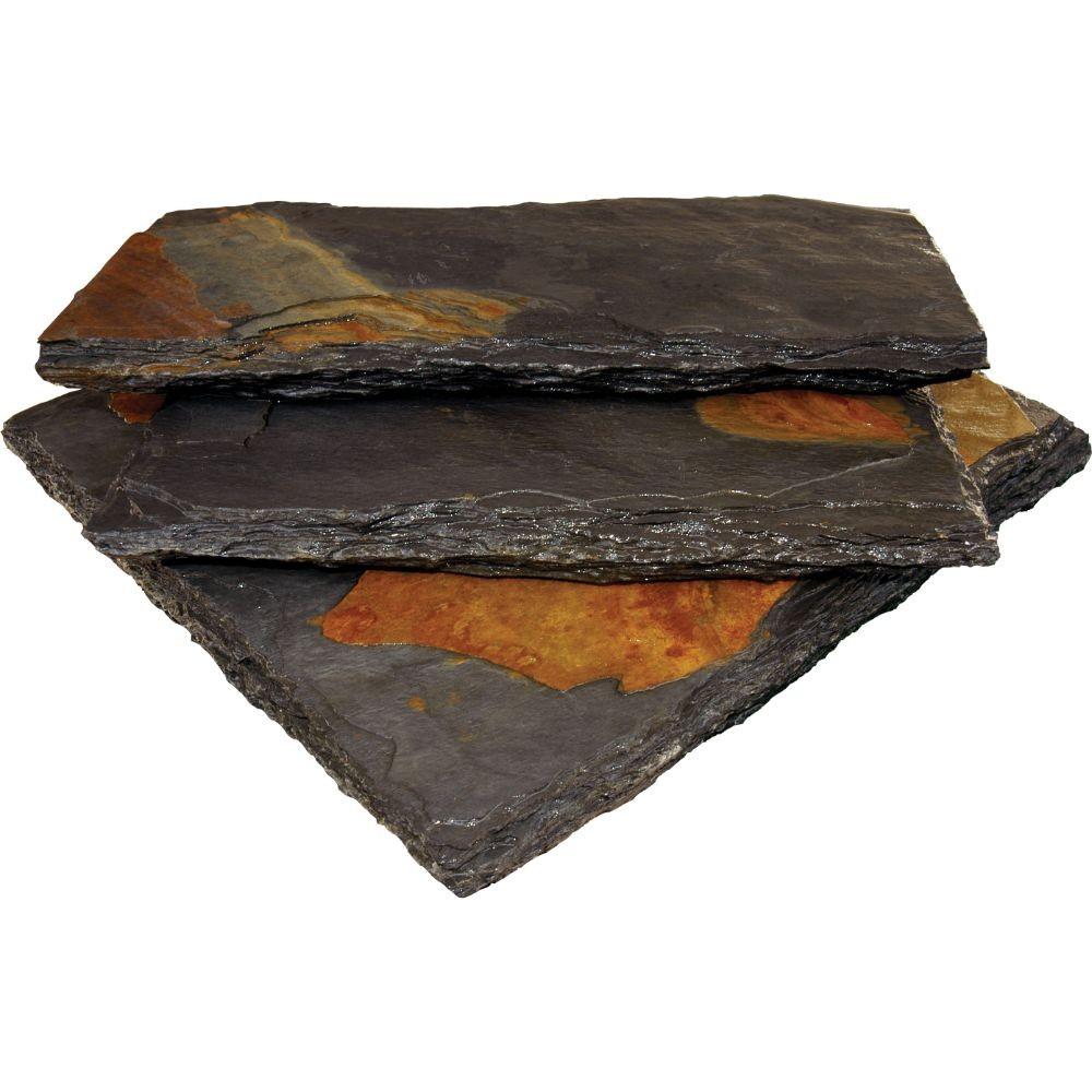 Charcoal Rust 12x24 Natural Cleft Wall Caps