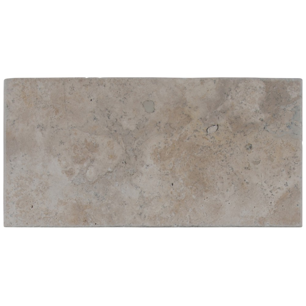 Mocha Mini PatternTumbled Brushed Paver