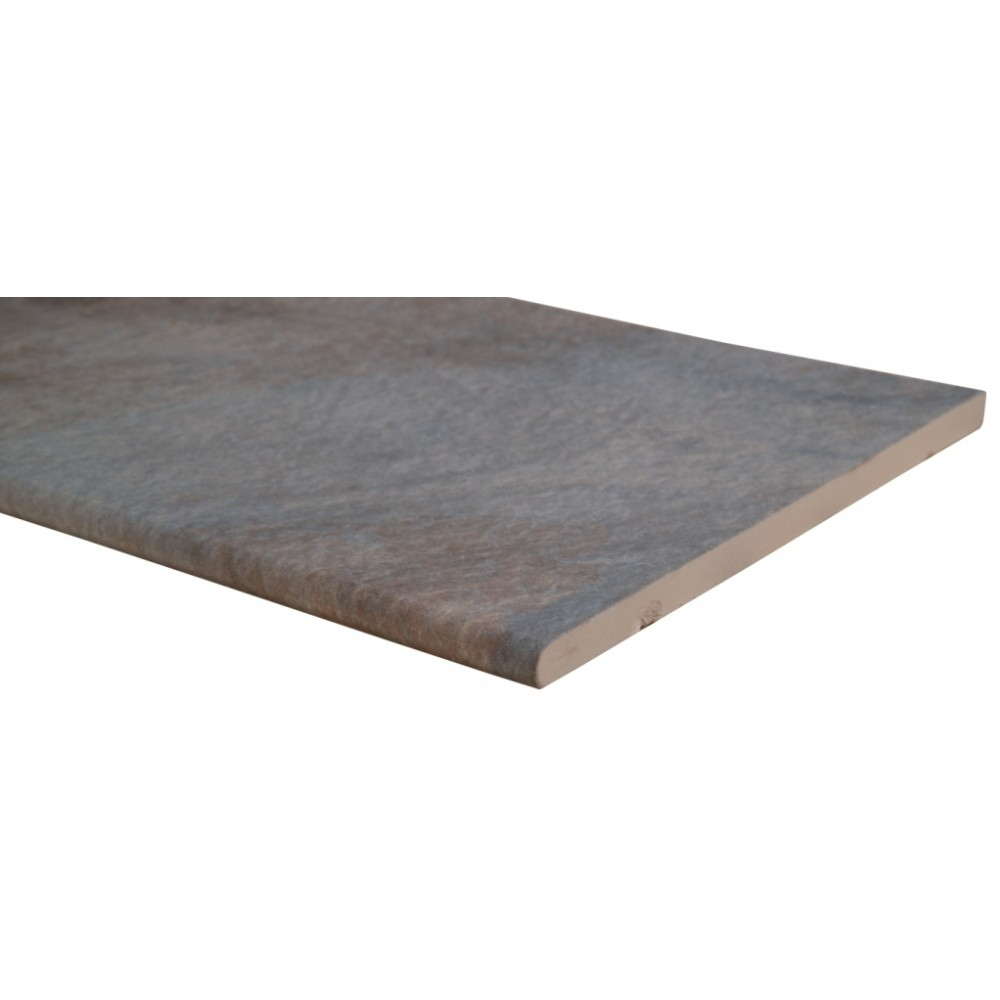 Mystique Multicolor 13X24 One Long Side Bullnose Pool Coping