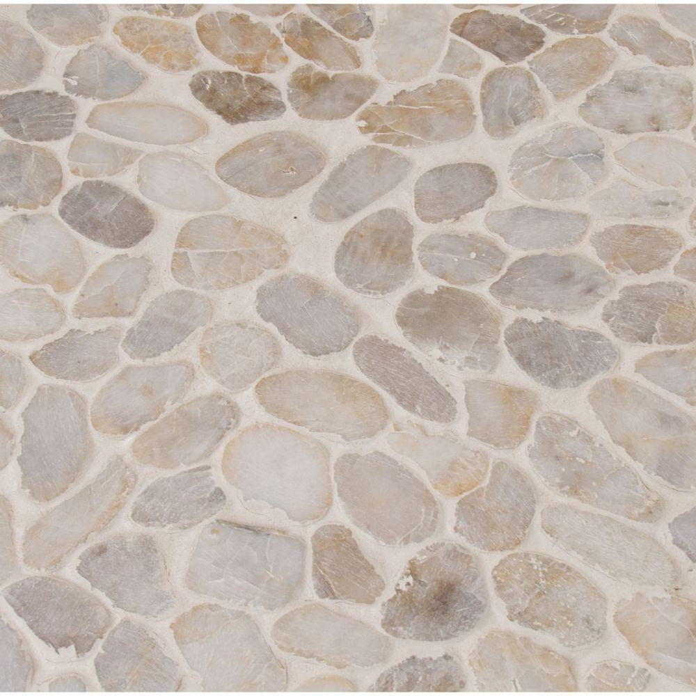 Rio Lago Dorado Tumbled Marble Pebble