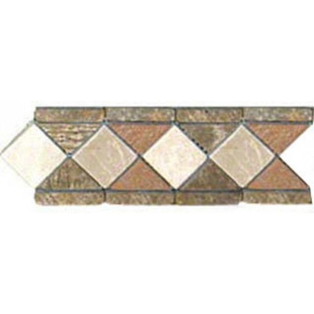 Aspen Slate 4x12 Tumbled Border