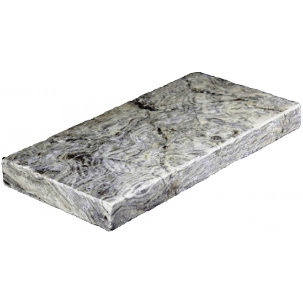 Silver Travertine 8X8 Tumbled Travertine Paver