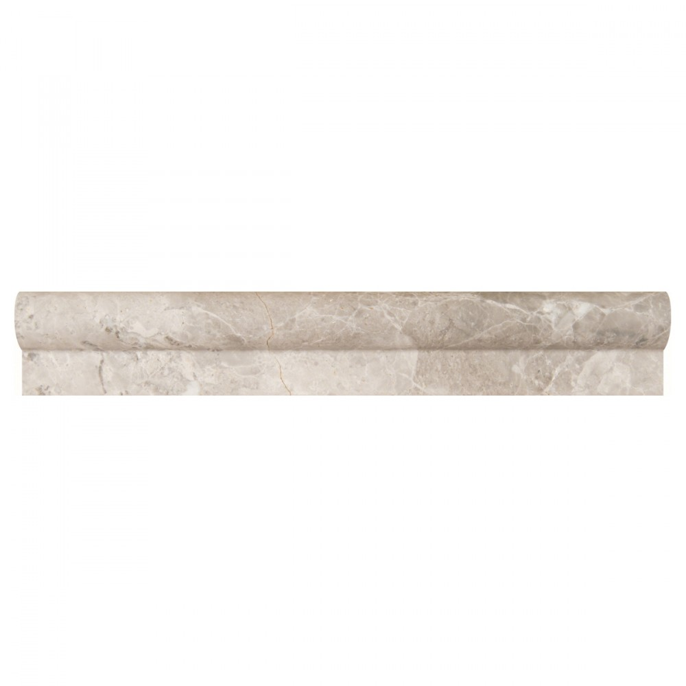 Tundra Gray 1x2x12 Rail Molding Polished
