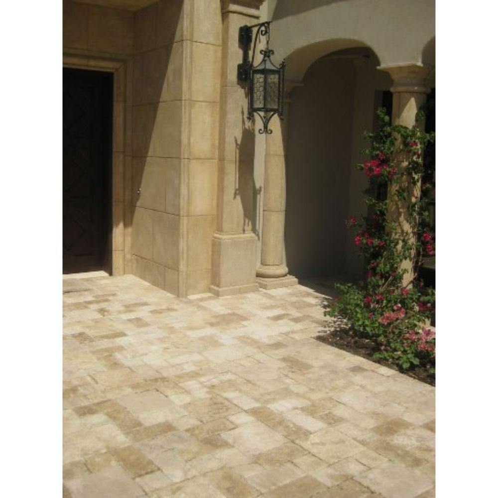 Tuscany Walnut 6X12 Paver Honed Unfilled Chiseled