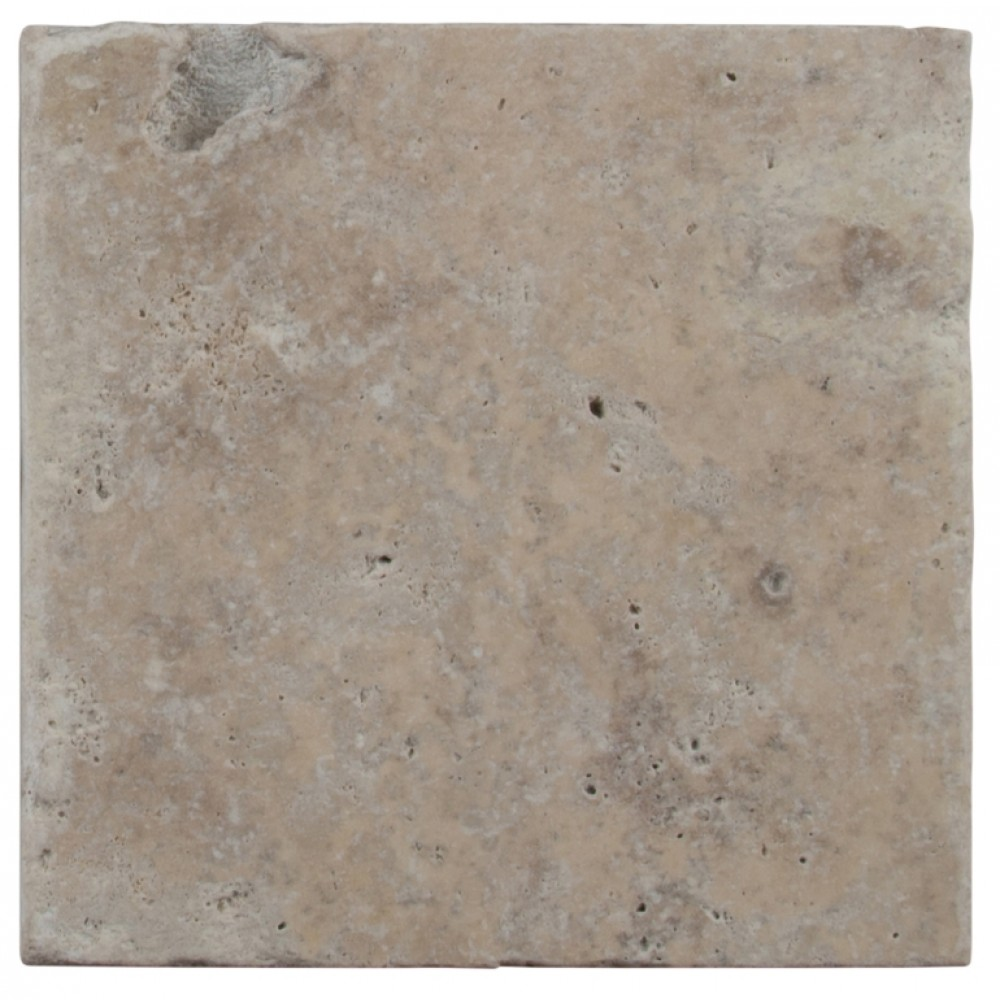 Tuscany Walnut 8X8 Honed Unfilled Tumbled Paver