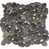Black Pebble 12x12 Stone Mosaic