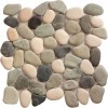 Jubilee Multicolor Rounded 12X12 Interlocking Indonesia Pebble Tile