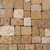 London Brown Natural Splitface Loose Veneers Corners-Dry