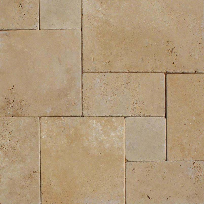 Durango Cream 16x24 Tumbled Pavers