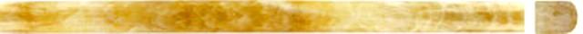 Yellow Onyx Pencil 3/4X3/4X12 Polished