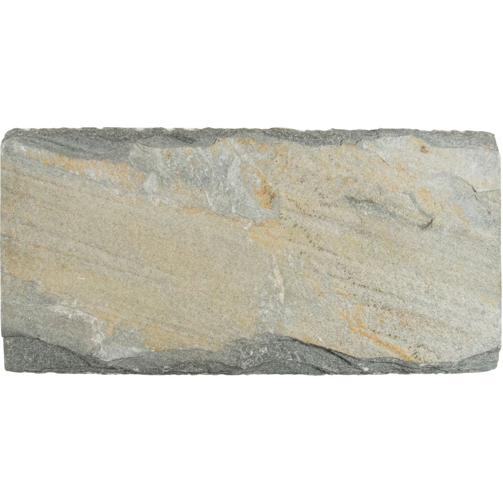 Golden White 12x24 Natural Cleft Wall Caps