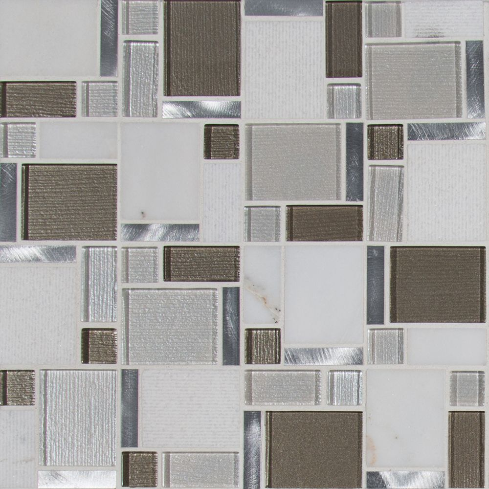 Magica Glass Stone Blend  Mosaic Tile