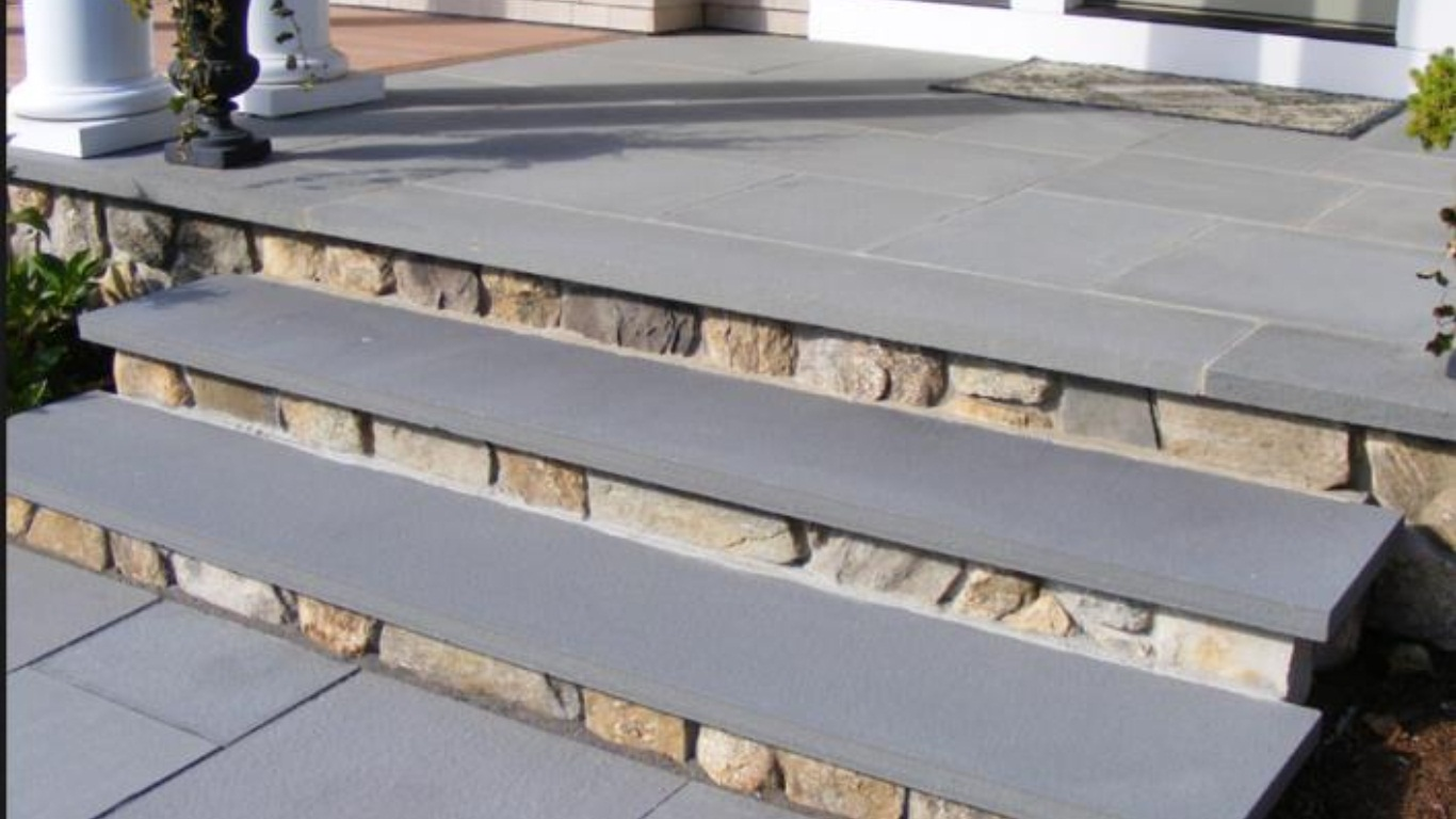 Mountain Bluestone 12x72 Flamed Sandstone Tread