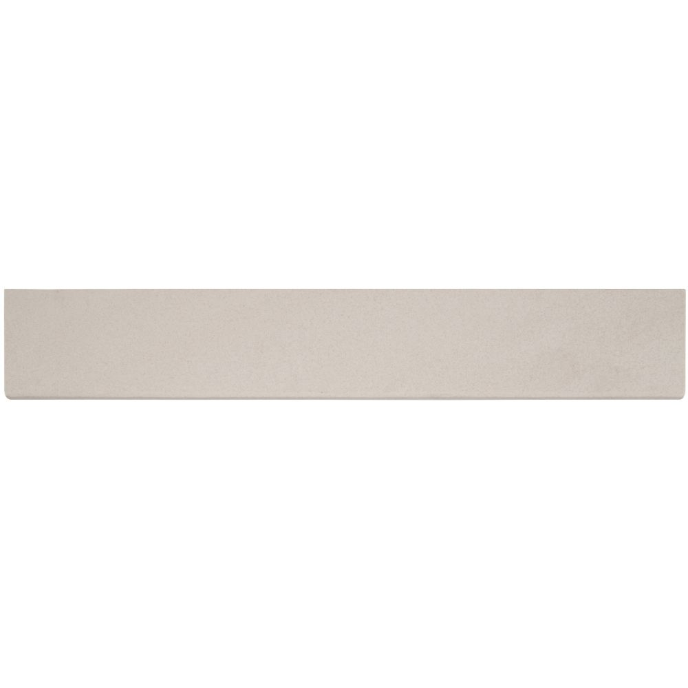 Optima Cream Bullnose 4x24 Matte Porcelain Tile