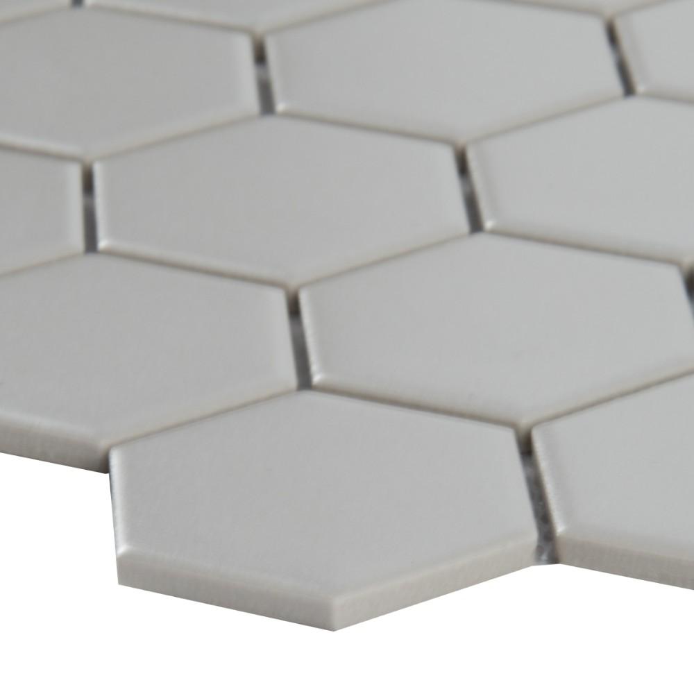 Retro Hexagon Matte Pattern Porcelain Mosaic