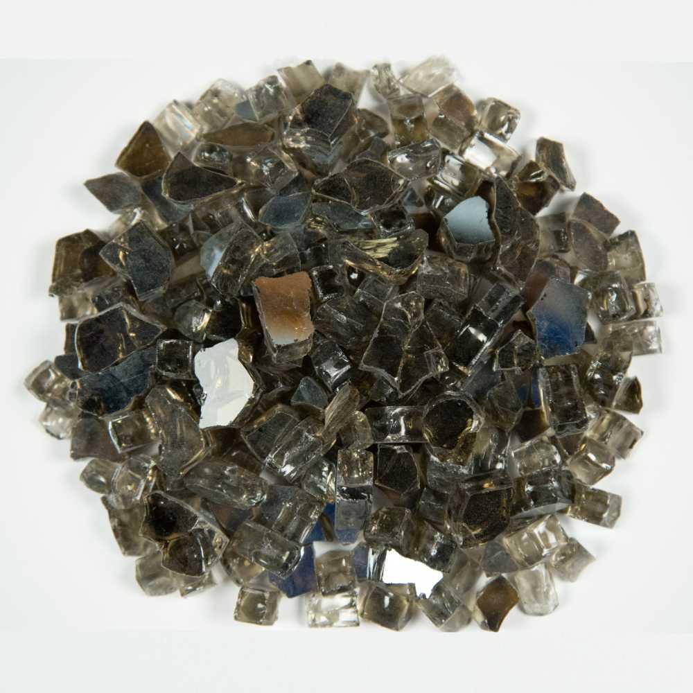 Titan Brown 1.27 CM 20 LBS Crystal Reflective Fireglass