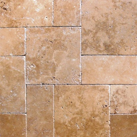 Tuscany Chocolade 16X16 Honed Unfilled Tumbled