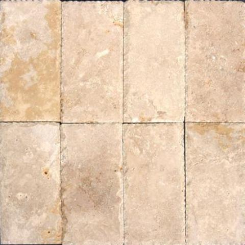 Tuscany Beige  6X12 Honed / Unfilled / Chiseled