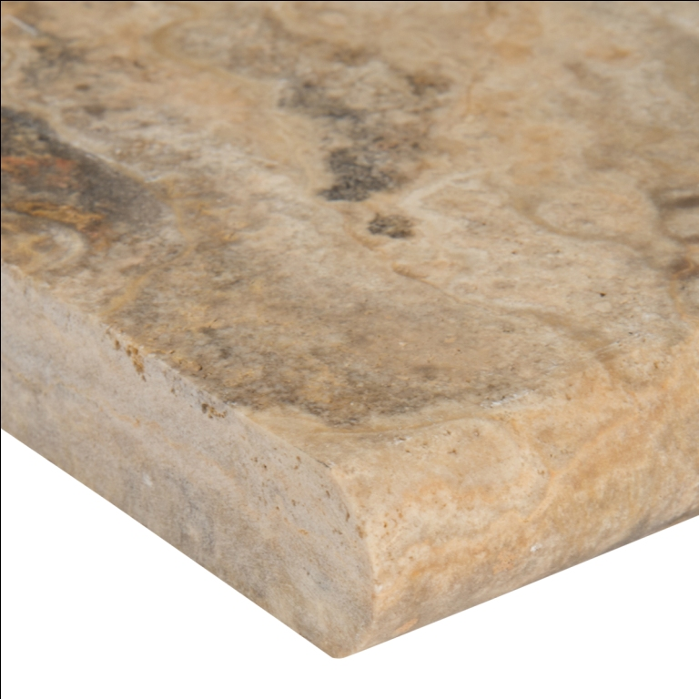 Tuscany Porcini 12X24X1.2 Honed Unfilled One Long Side Bullnose Pool Coping