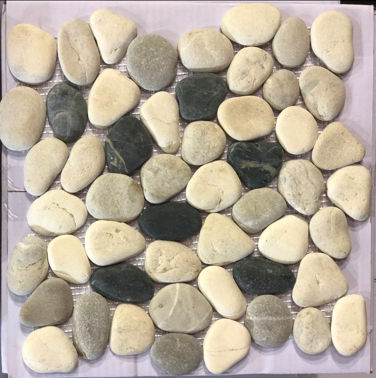 Wonderland 12X12 Interlocking Rounded Pebble Tile